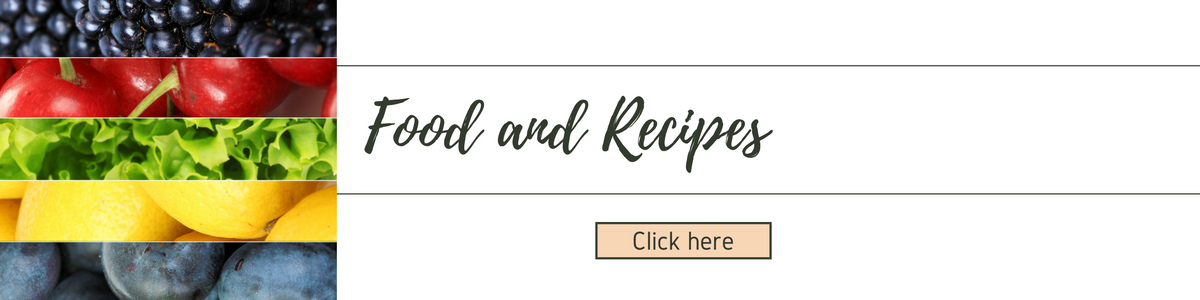 Food And Recipes Banner