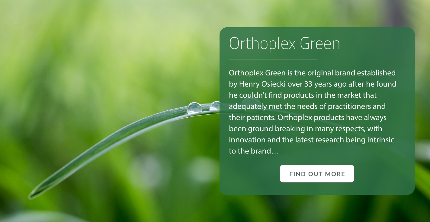 Orthoplex Green About Us